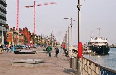 Hafenviertel von Dublin